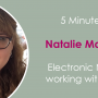 5 Minutes with: Natalie MacWilliam